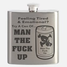 Man The Fuck Up Flask