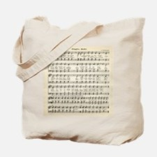 Jingle Bells, Christmas Sheet Music Tote Bag