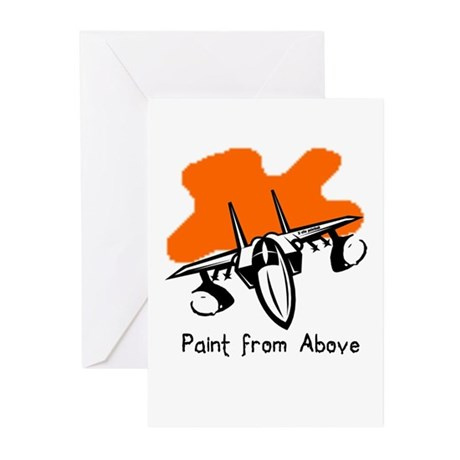 Paint from Above Greeting Cards (Pk of 20)