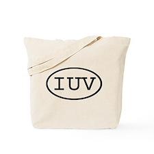 IUV Oval Tote Bag