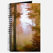 Foggy Autumn Forest Journal