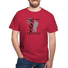 Granddaughter Proudly Serves 2 - NAVY T-Shirt