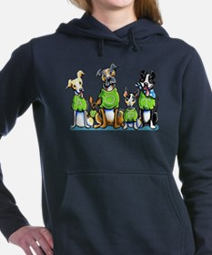 Adopt shelter pet Women's Hooded Sweatshirt