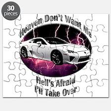 Lexus LFA Puzzle