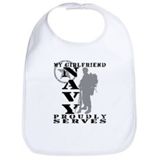 GF Proudly Serves 2 - NAVY Bib