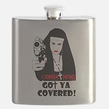 combat nuns-got ya covered Flask
