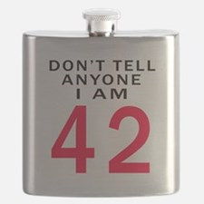Don't Tell Anyone I'm 42 Flask