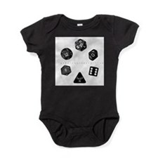 Unique D20 Baby Bodysuit