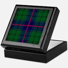 Davidson Scottish Tartan Keepsake Box