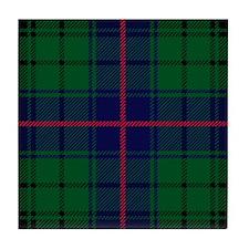 Davidson Scottish Tartan Tile Coaster