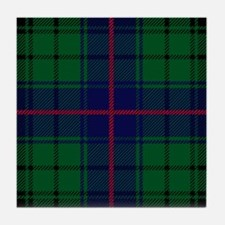 Davidson Scottish Tartan Tile Coaster