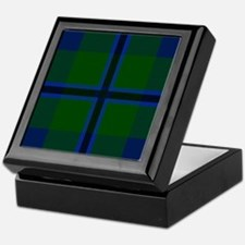 Douglas Scottish Tartan Keepsake Box