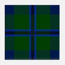 Douglas Scottish Tartan Tile Coaster