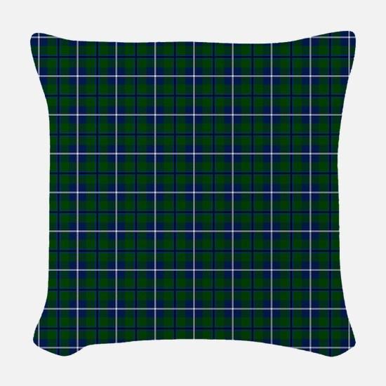 Douglas Scottish Tartan Woven Throw Pillow