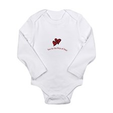 Cute Twin baby shower theme Long Sleeve Infant Bodysuit