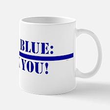Men In Blue Mugs