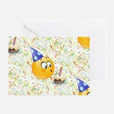 happy birthday emoji Greeting Card