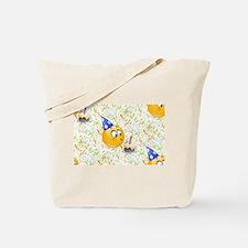 happy birthday emoji Tote Bag