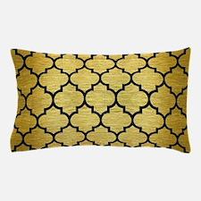 TIL1 BK MARBLE GOLD (R) Pillow Case