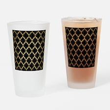 TIL1 BK MARBLE GOLD Drinking Glass
