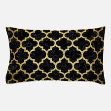 TIL1 BK MARBLE GOLD Pillow Case
