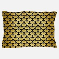 SCA3 BK MARBLE GOLD (R) Pillow Case