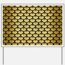 SCA3 BK MARBLE GOLD (R) Yard Sign