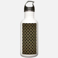 SCA2 BK MARBLE GOLD Water Bottle
