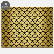 SCA1 BK MARBLE GOLD (R) Puzzle
