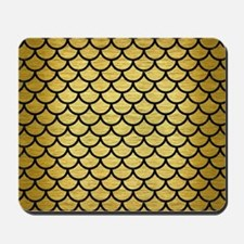 SCA1 BK MARBLE GOLD (R) Mousepad