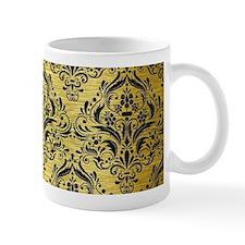 DMS1 BK MARBLE GOLD (R) Small Mug