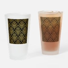 DMS1 BK MARBLE GOLD Drinking Glass