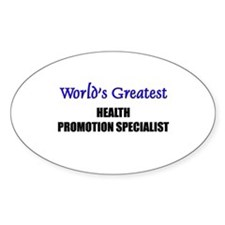 Worlds Greatest HEALTH PROMOTION SPECIALIST Sticke