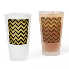 CHV9 BK MARBLE GOLD (R) Drinking Glass