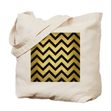 CHV9 BK MARBLE GOLD (R) Tote Bag