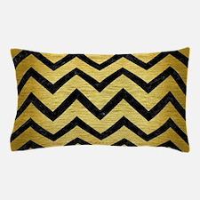 CHV9 BK MARBLE GOLD (R) Pillow Case