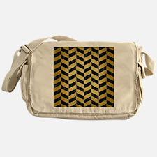 CHV1 BK MARBLE GOLD Messenger Bag