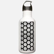 HXG2 BK MARBLE SILVER Water Bottle