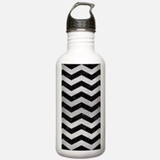 CHV3 BK MARBLE SILVER Water Bottle