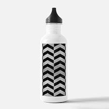 CHV2 BK MARBLE SILVER Water Bottle