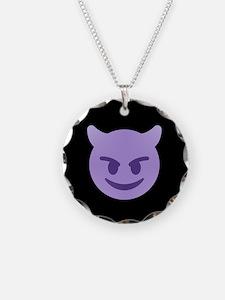 devil emoji Necklace