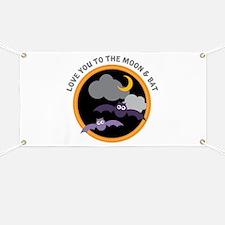 Moon & Bat Banner