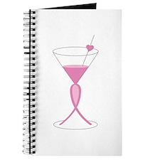 Awareness Ribbon Drink Journal