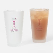 Go Pink Drinking Glass