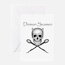 Magicraftsman's Demon Seamen Greeting Card