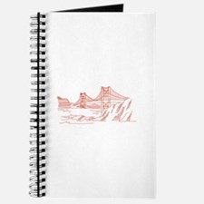 Golden Gate Outline Journal