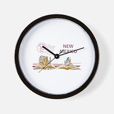 Travel New Mexico Wall Clock