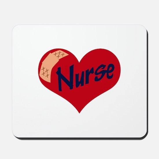Nurse Heart Mousepad