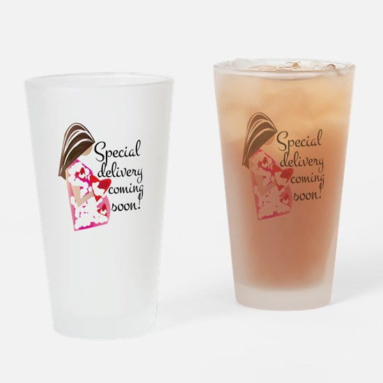 Special Delivery Drinking Glass