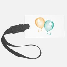 Party Balloons Luggage Tag